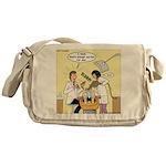 Dentist Suction Messenger Bag