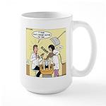 Dentist Suction Large Mug