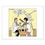 Dentist Suction Small Poster