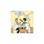 Dentist Suction 35x21 Wall Decal
