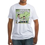 Dentists and Flossing Fitted T-Shirt