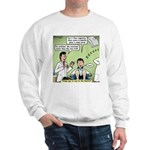 Dentists and Flossing Sweatshirt