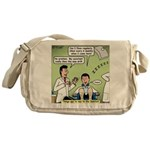 Dentists and Flossing Messenger Bag
