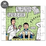 Dentists and Flossing Puzzle
