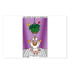 House Plant of Damocles Postcards (Package of 8)
