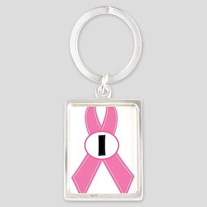 Breast Cancer 1 Year Ribbon Keychains