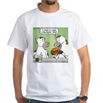 Cow Fast Food White T-Shirt
