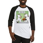 Cow Fast Food Baseball Jersey