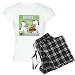 Cow Fast Food Women's Light Pajamas