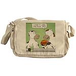 Cow Fast Food Messenger Bag