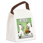 Cow Fast Food Canvas Lunch Bag