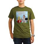 Coach Interview Organic Men's T-Shirt (dark)