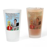 Coach Interview Drinking Glass