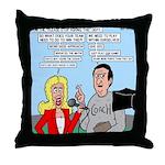Coach Interview Throw Pillow