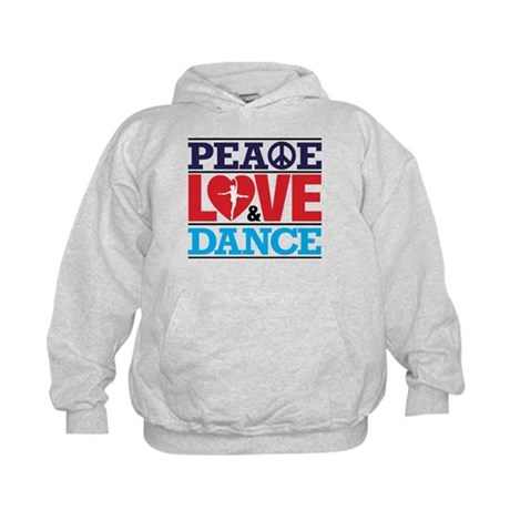 Peace Love and Dance Hoodie