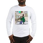 Cartoonist at Work Long Sleeve T-Shirt