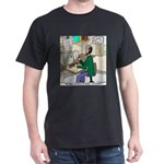 Cartoonist at Work Dark T-Shirt