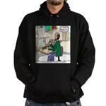 Cartoonist at Work Hoodie (dark)