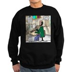 Cartoonist at Work Sweatshirt (dark)