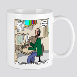 Cartoonist at Work Mug