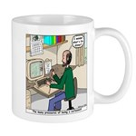 Cartoonist at Work Mug