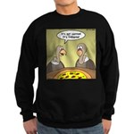 Buzzard Pizza Sweatshirt (dark)