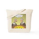 Buzzard Pizza Tote Bag