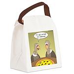 Buzzard Pizza Canvas Lunch Bag