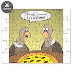 Buzzard Pizza Puzzle