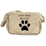 got West Highland White Terrier? Messenger Bag