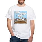 Buzzard Carry-In Dinner White T-Shirt