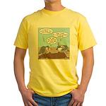 Buzzard Carry-In Dinner Yellow T-Shirt