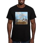 Buzzard Carry-In Dinner Men's Fitted T-Shirt (dark