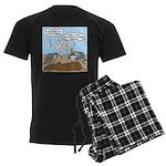 Buzzard Carry-In Dinner Men's Dark Pajamas
