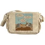 Buzzard Carry-In Dinner Messenger Bag