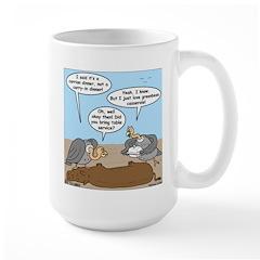 Buzzard Carry-In Dinner Large Mug