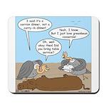 Buzzard Carry-In Dinner Mousepad