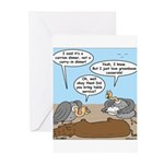 Buzzard Carry-In Dinner Greeting Cards (Pk of 10)