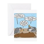 Buzzard Carry-In Dinner Greeting Card