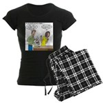 Bucket of Meat Women's Dark Pajamas