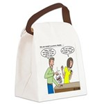 Bucket of Meat Canvas Lunch Bag