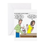 Bucket of Meat Greeting Cards (Pk of 10)