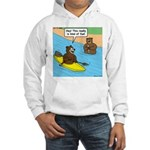 Bear Kayaking Hooded Sweatshirt