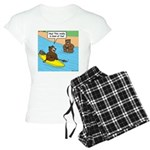 Bear Kayaking Women's Light Pajamas