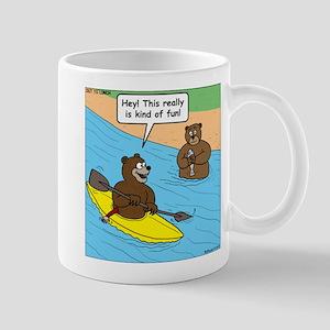 Bear Kayaking Mug