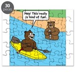 Bear Kayaking Puzzle