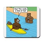 Bear Kayaking Mousepad