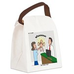 Baby Check Canvas Lunch Bag