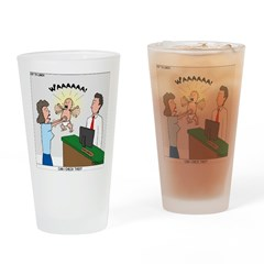 Baby Check Drinking Glass