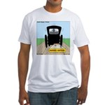 Amish Bumper Sticker Fitted T-Shirt